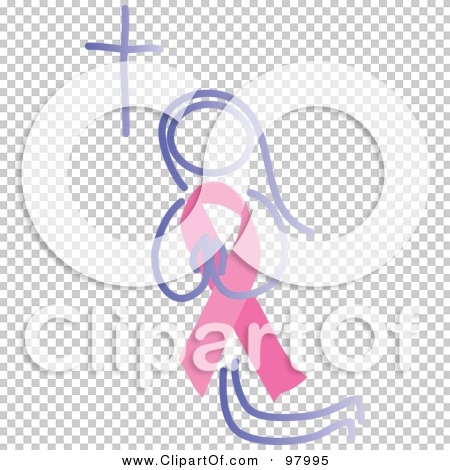 Royalty-Free (RF) Clipart Illustration of a Praying Woman With A ...