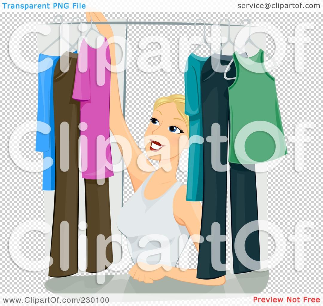 Organized Closet Clipart