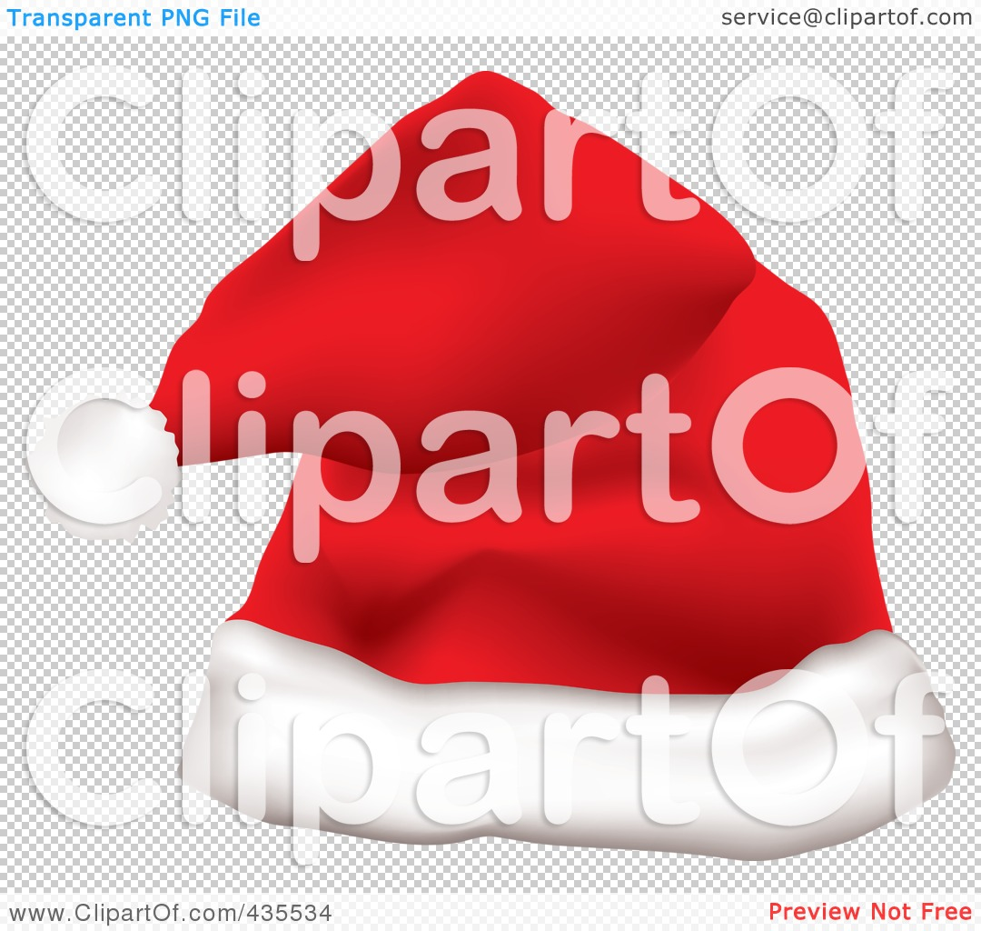 Royalty-Free (RF) Clipart Illustration of a Red Father Christmas ...