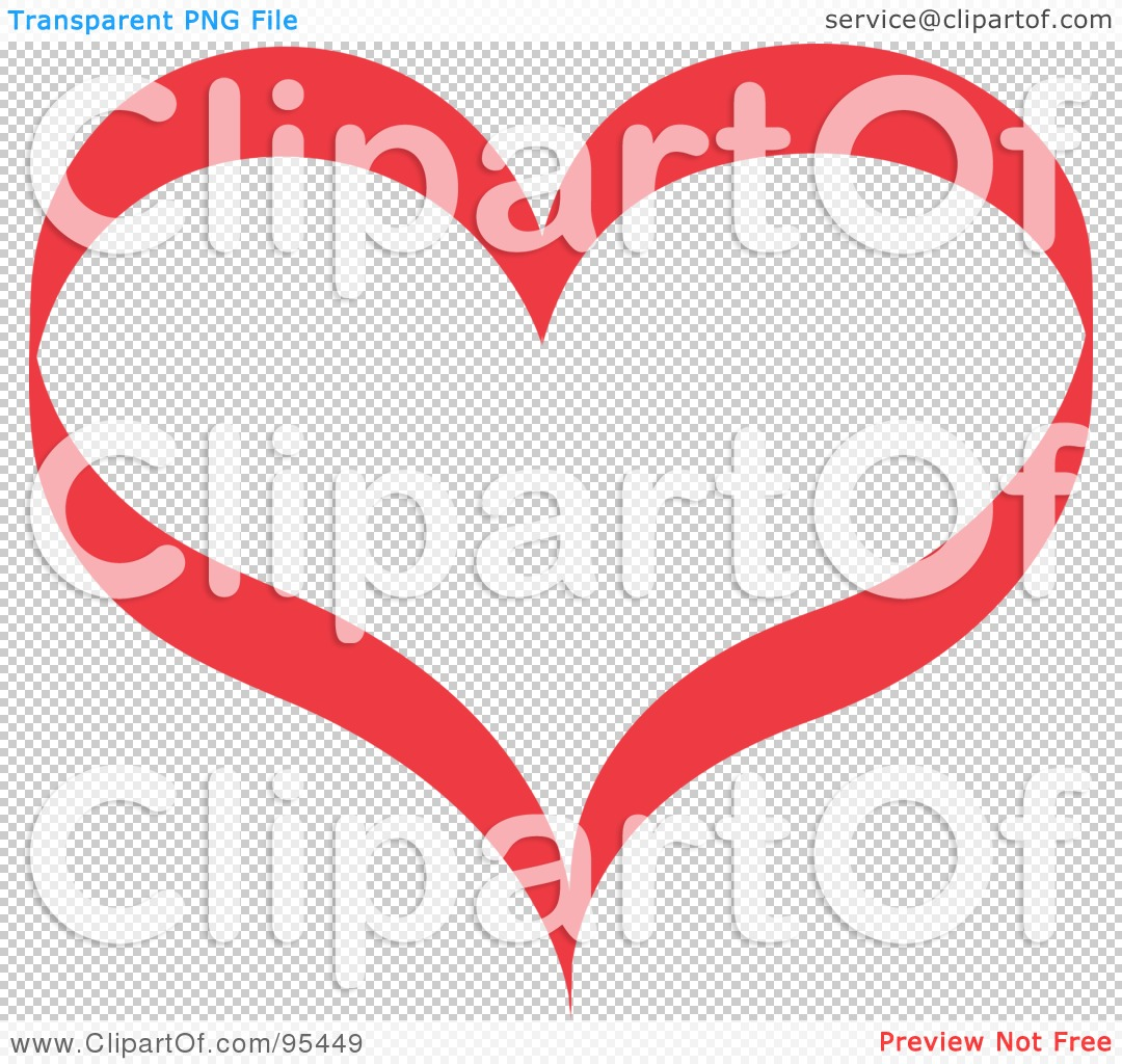 Red Heart No Background