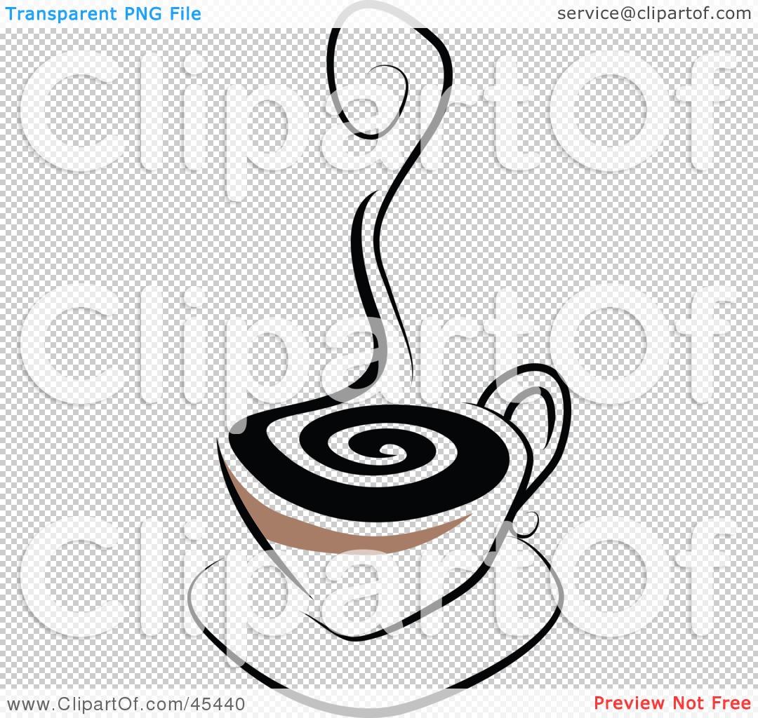 royaltyfree rf clipart illustration of a rising curl of