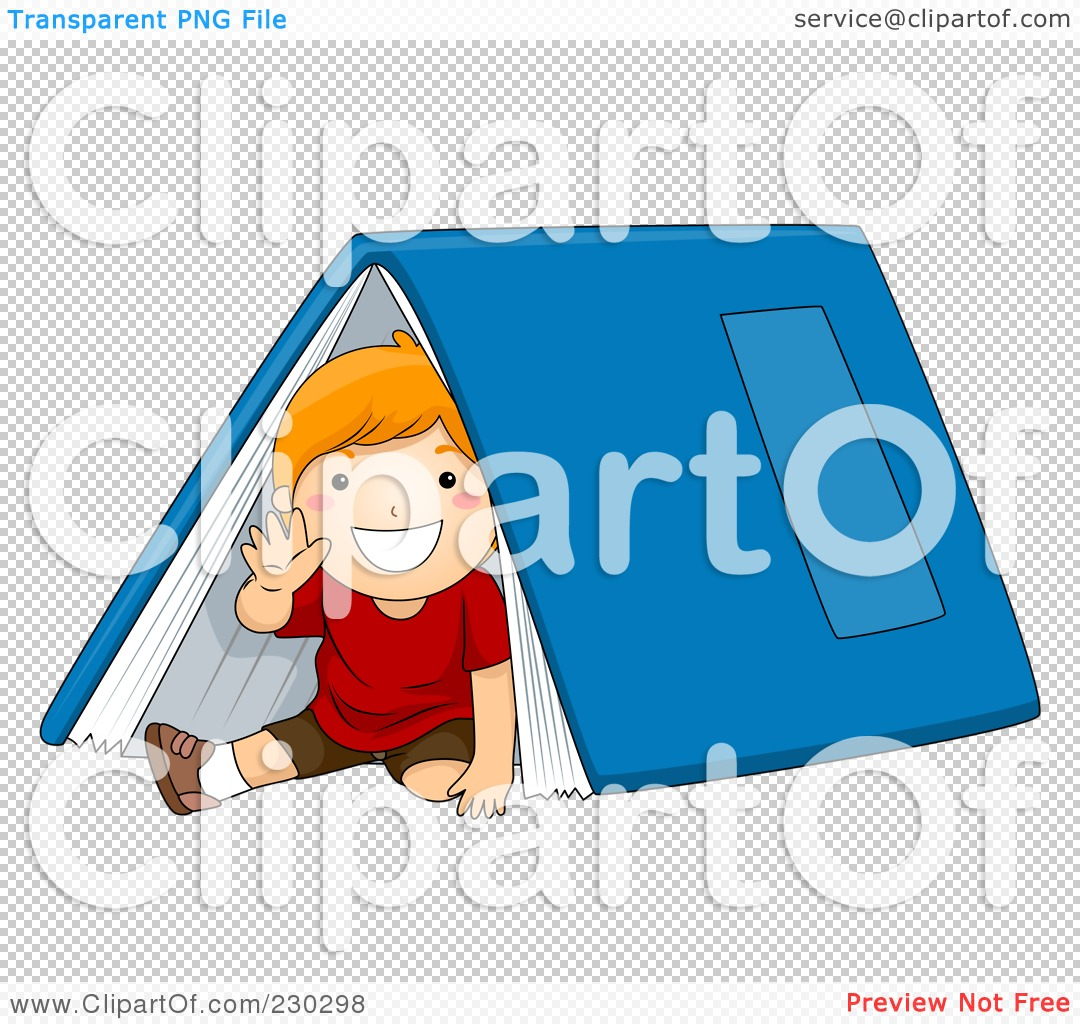 PNG file has a ...  sc 1 st  Clipart Of & Royalty-Free (RF) Clipart Illustration of a School Boy Waving And ...