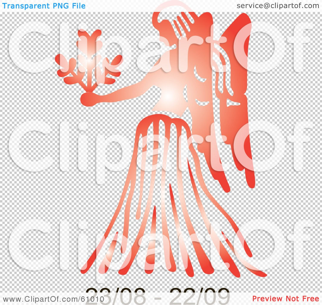 Royalty free rf clipart illustration of a shiny red virgo png file has a buycottarizona Gallery