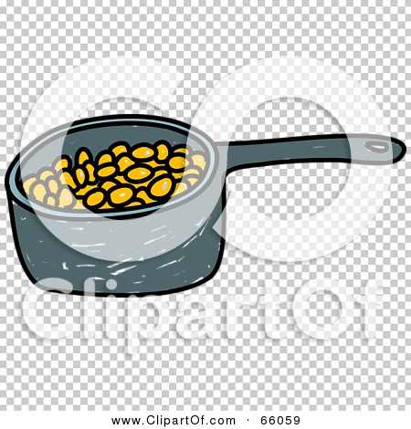 Royalty-Free (RF) Clipart Illustration of a Sketched Pan of Baked ...
