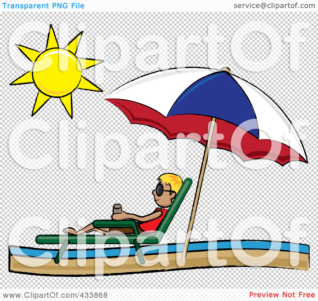 Beach umbrella and chair png - Png File Has A