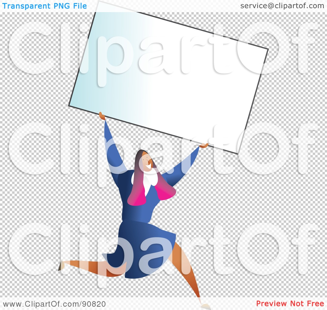 Royalty free rf clipart illustration of a successful businesswoman png file has a reheart Images