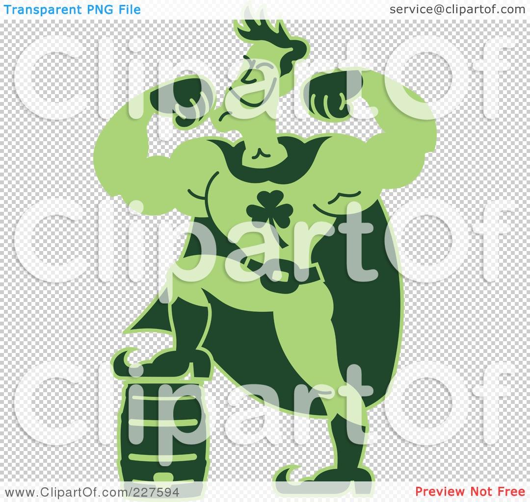 Royalty-Free (RF) Clipart Illustration of a Super Hero Man ...