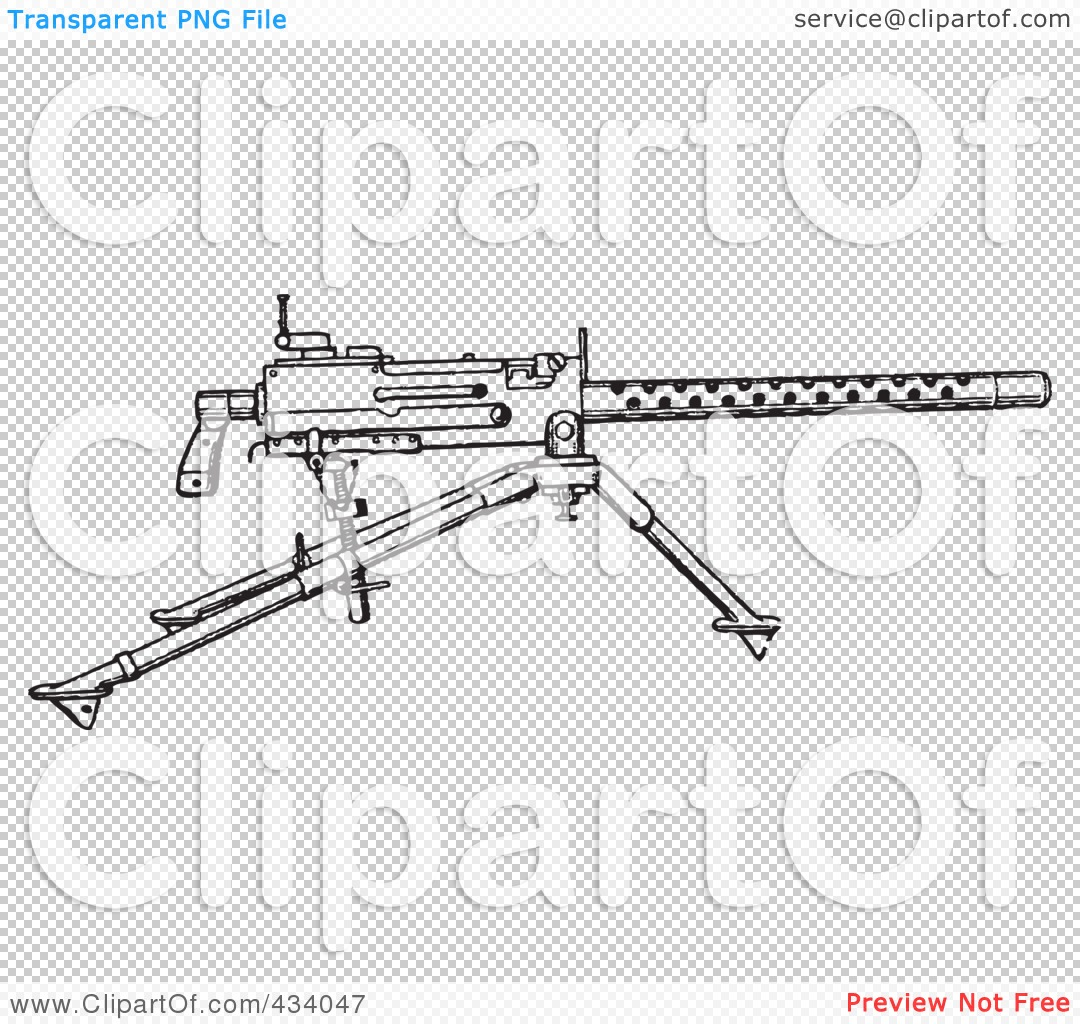 Royalty-Free-RF-Clipart-Illustration-Of-A-Vintage-Black-And-White-War ...
