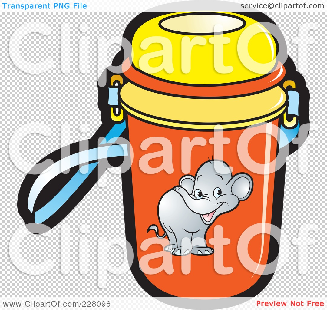 Water Bottle Graphic: Royalty-Free (RF) Clipart Illustration Of A Water Bottle
