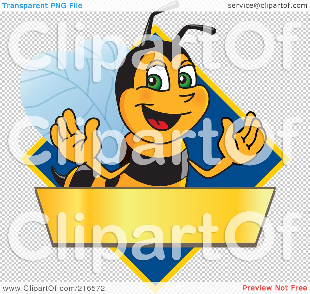 royalty free rf clipart illustration of a worker bee character rh clipartof com Teacher Boarder Teacher Bee Months