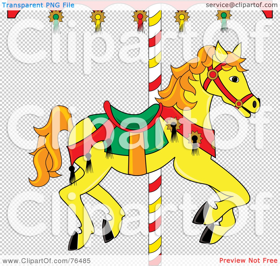 Royalty Free RF Clipart Illustration Of A Yellow