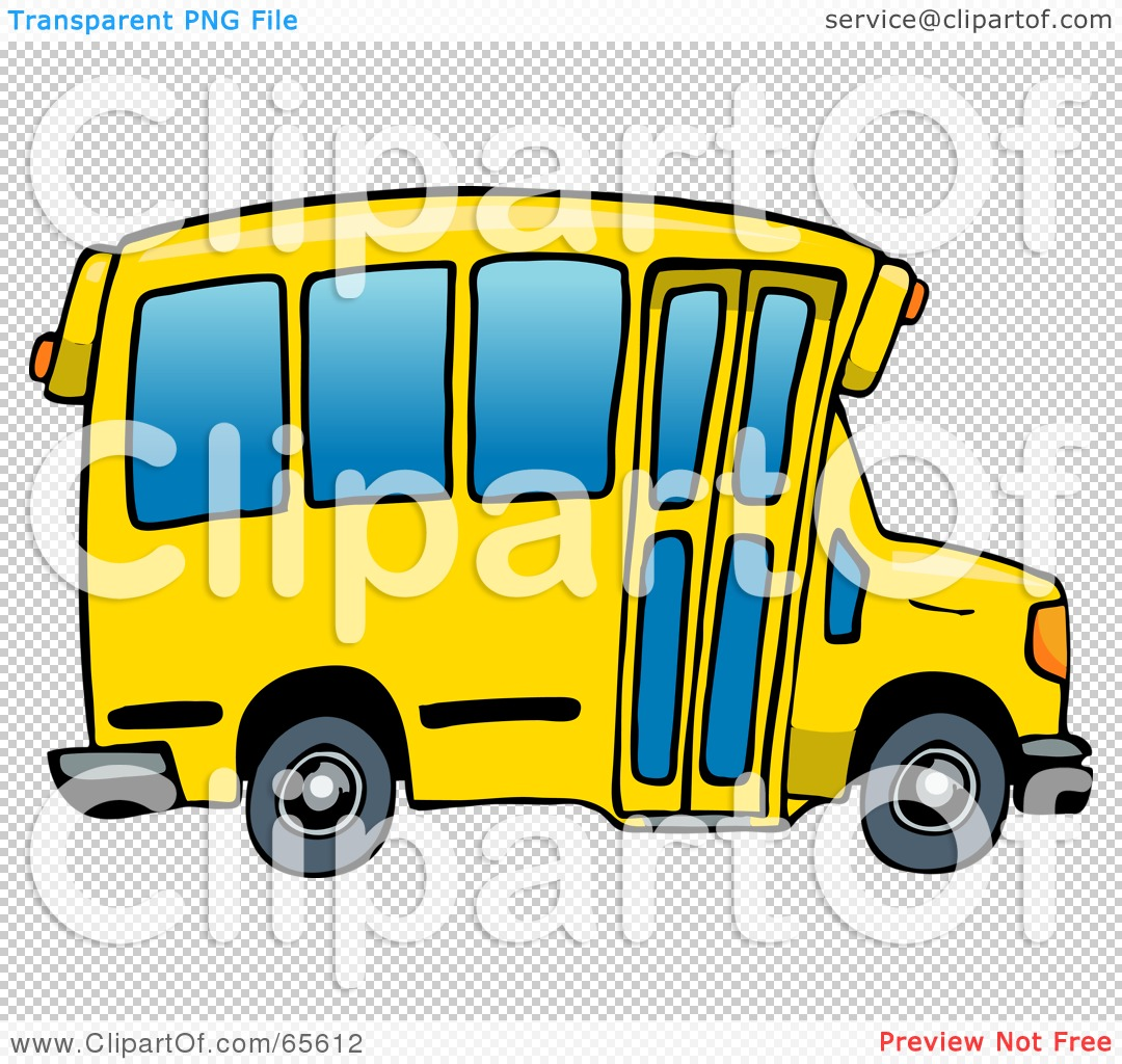 Back To School Bus Clip Art Royalty-free clipart picture