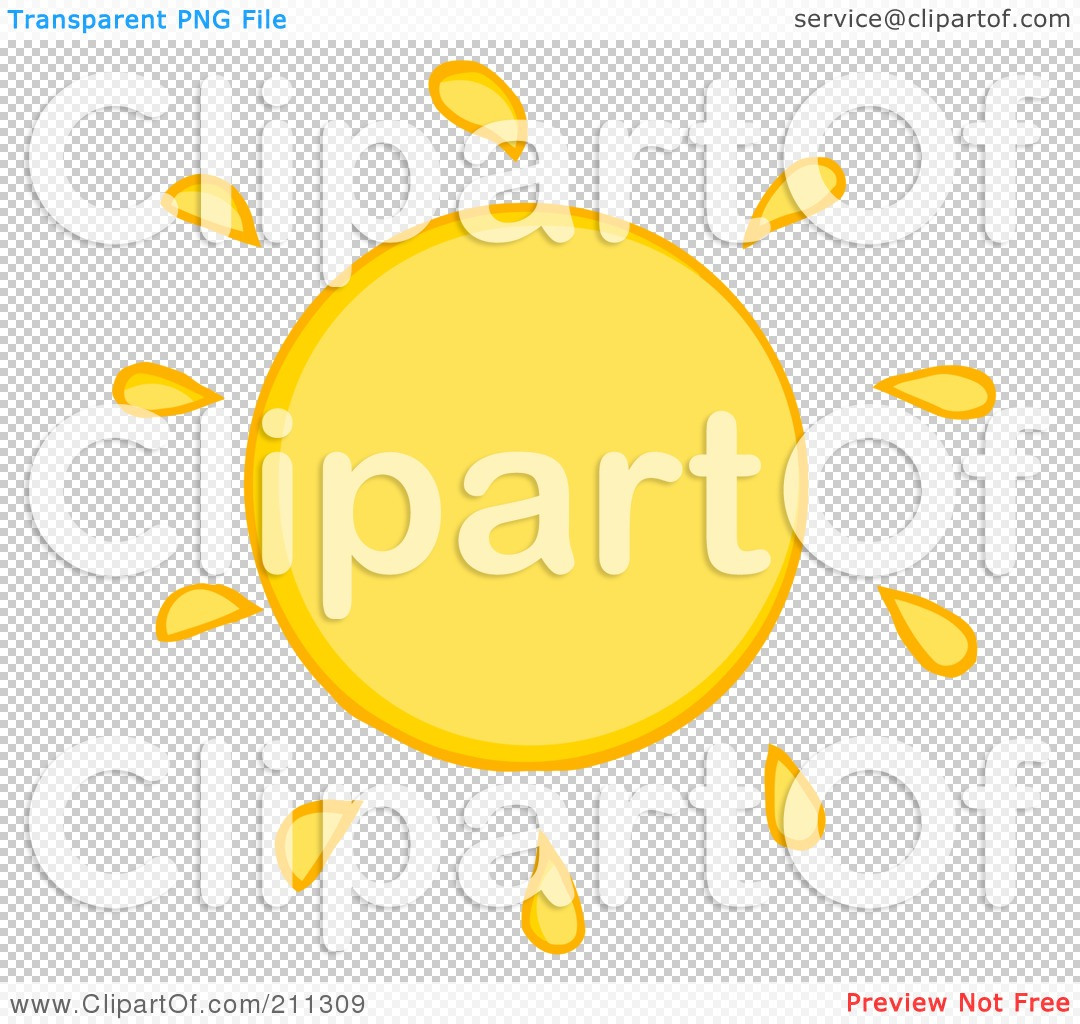 Cartoon Sun Rays Of a yellow sun cartoon,