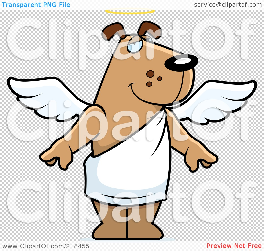 dog angel clipart - photo #29