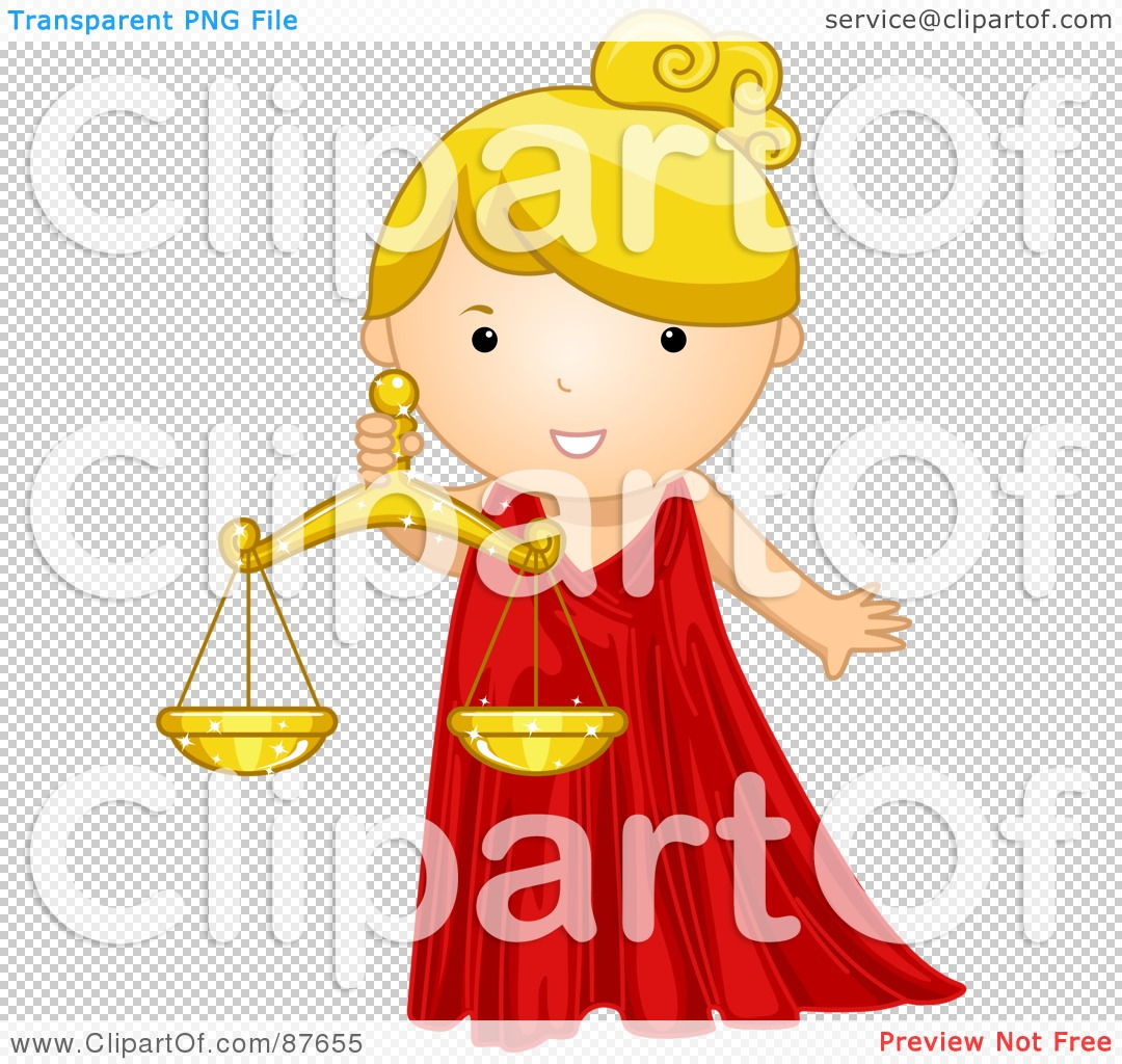 Royalty-Free (RF) Clipart Illustration of an Astrological Cute ...
