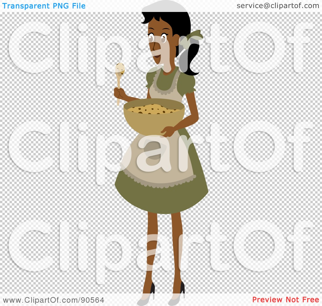 Royalty-Free (RF) Clipart Illustration of an Indian Or African ...