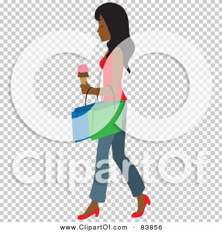 Royalty-Free-RF-Clipart-Illustration-Of-An-Indian-Woman-Carrying-An ...
