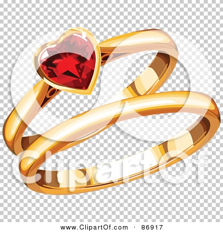 Royalty-Free (RF) Clipart Illustration of Gold His And ...