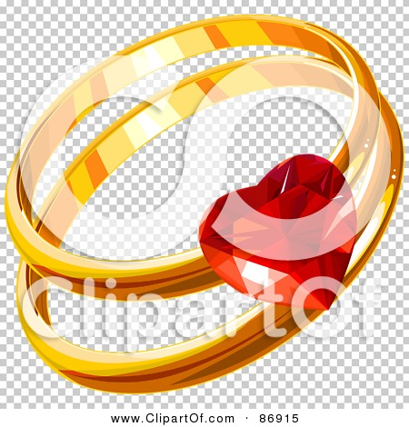Royalty-Free (RF) Clipart Illustration of Golden His And ...