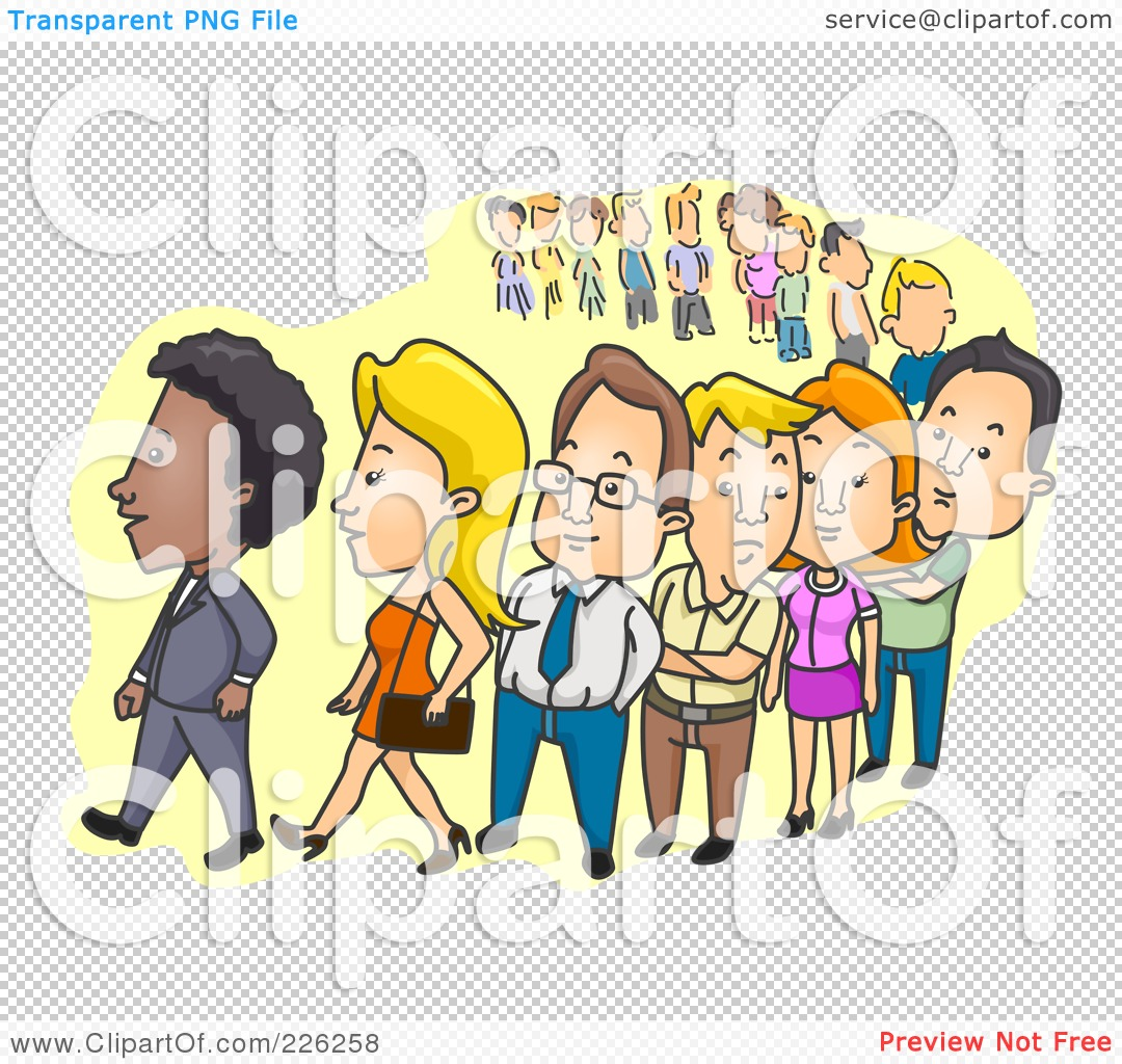clipart line up - photo #44