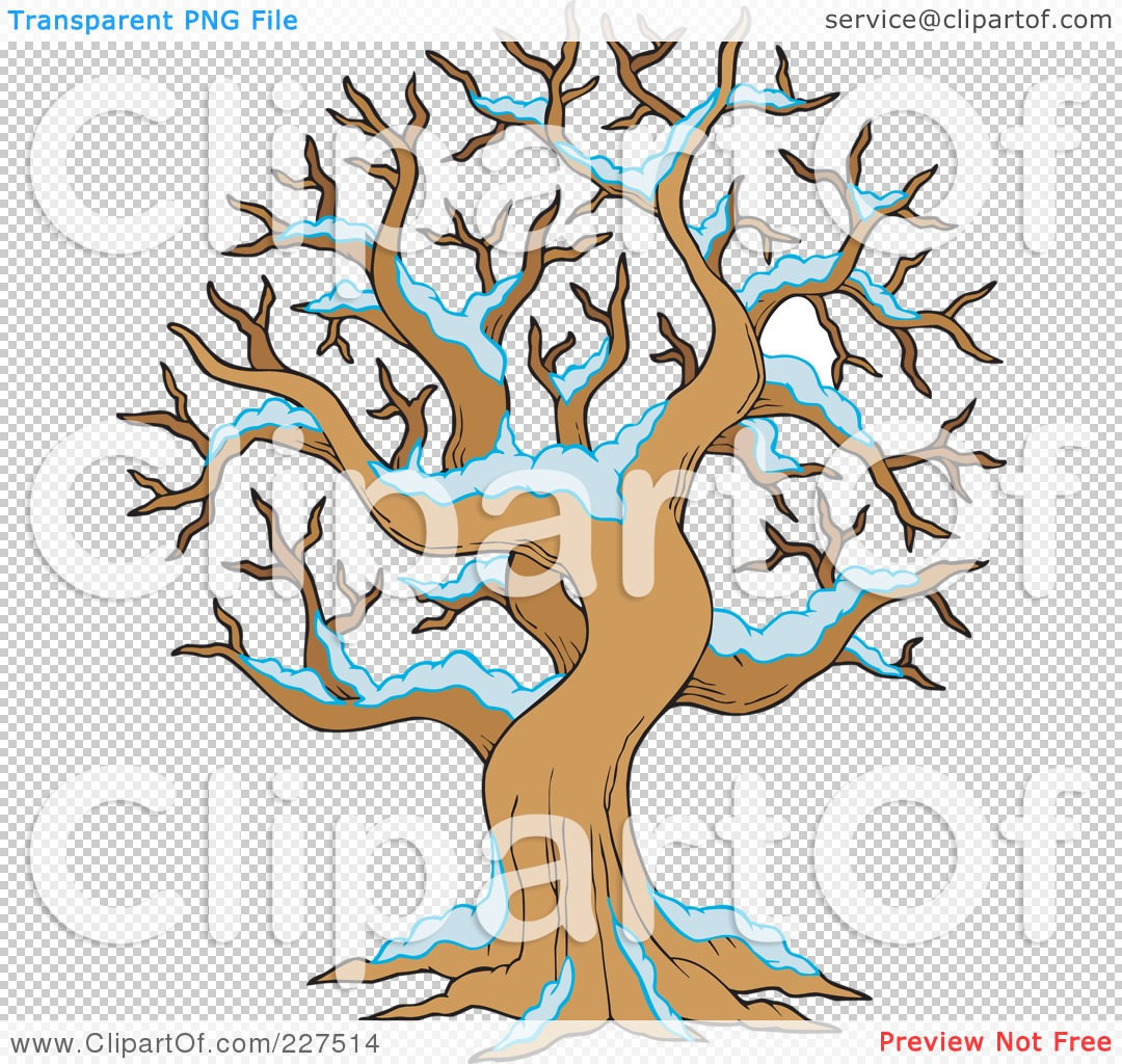 Snow Tree Clip Art Royalty-free clipart
