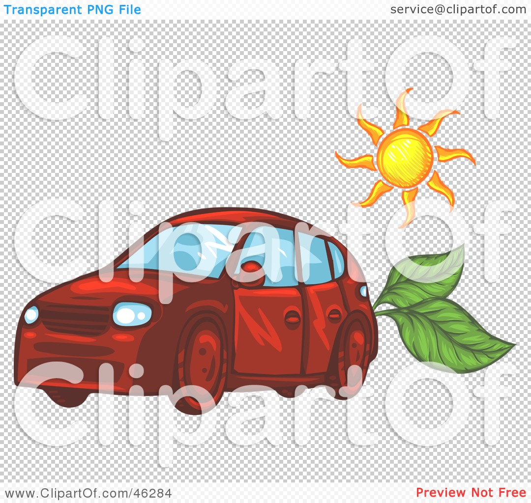 Royalty-Free (RF) Clipart Illustration of The Sun Over A ...