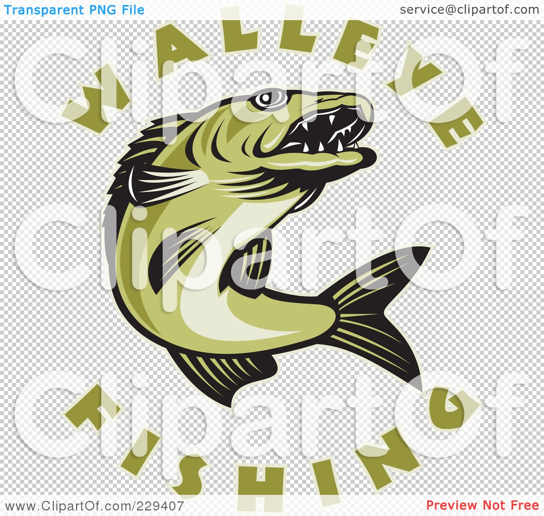 Walleye Fish Clip Art Walleye fish cake by sugarush