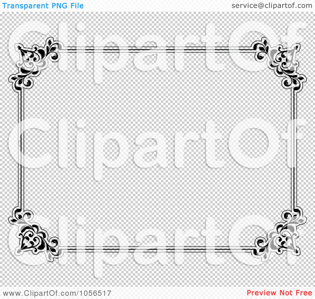 Royalty-Free Vector Clip Art Illustration of a Black And White ...