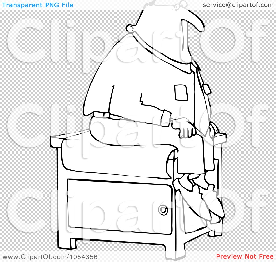 Hospital Patient Walking Clipart Royalty-free clipart picture