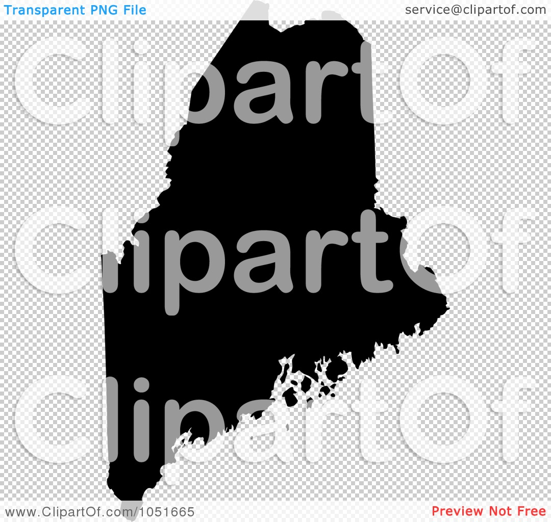Royalty-Free Vector Clip Art Illustration of a Black Silhouetted ...