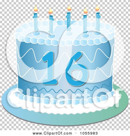 Royalty Free Vector Clip Art Illustration Of A Blue Sweet