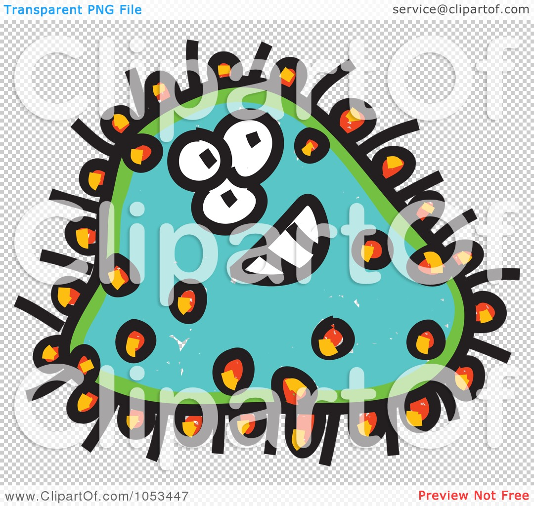 Clip Art Germ Clipart royalty free vector clip art illustration of a cartoon germ 2 by png file has a
