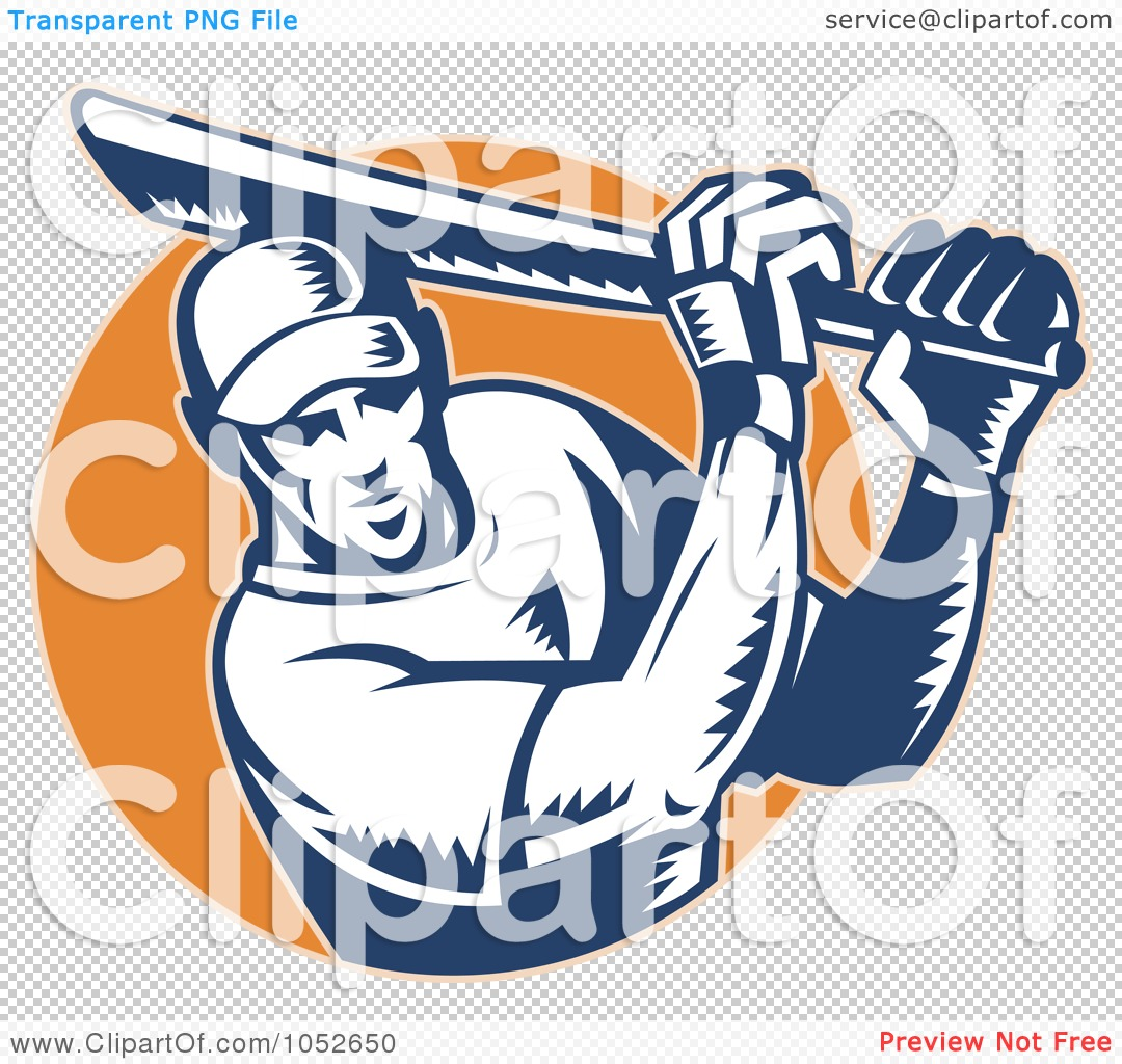 Royalty-Free Vector Clip Art Illustration of a Cricket Batsman ...