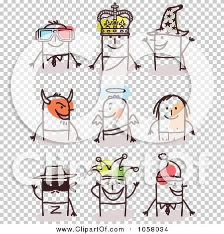 Transparent clip art background preview #COLLC1058034