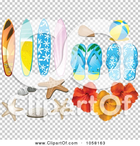 3ad031618ee125 Royalty-Free (RF) Clipart of Thong Sandals