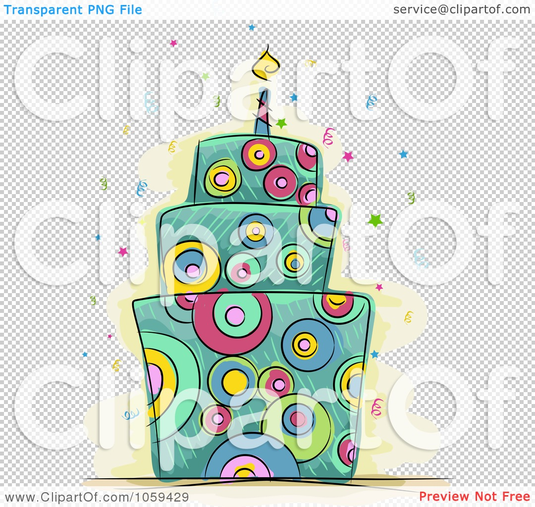 Royalty-Free Vector Clip Art Illustration of a Psychedelic ...