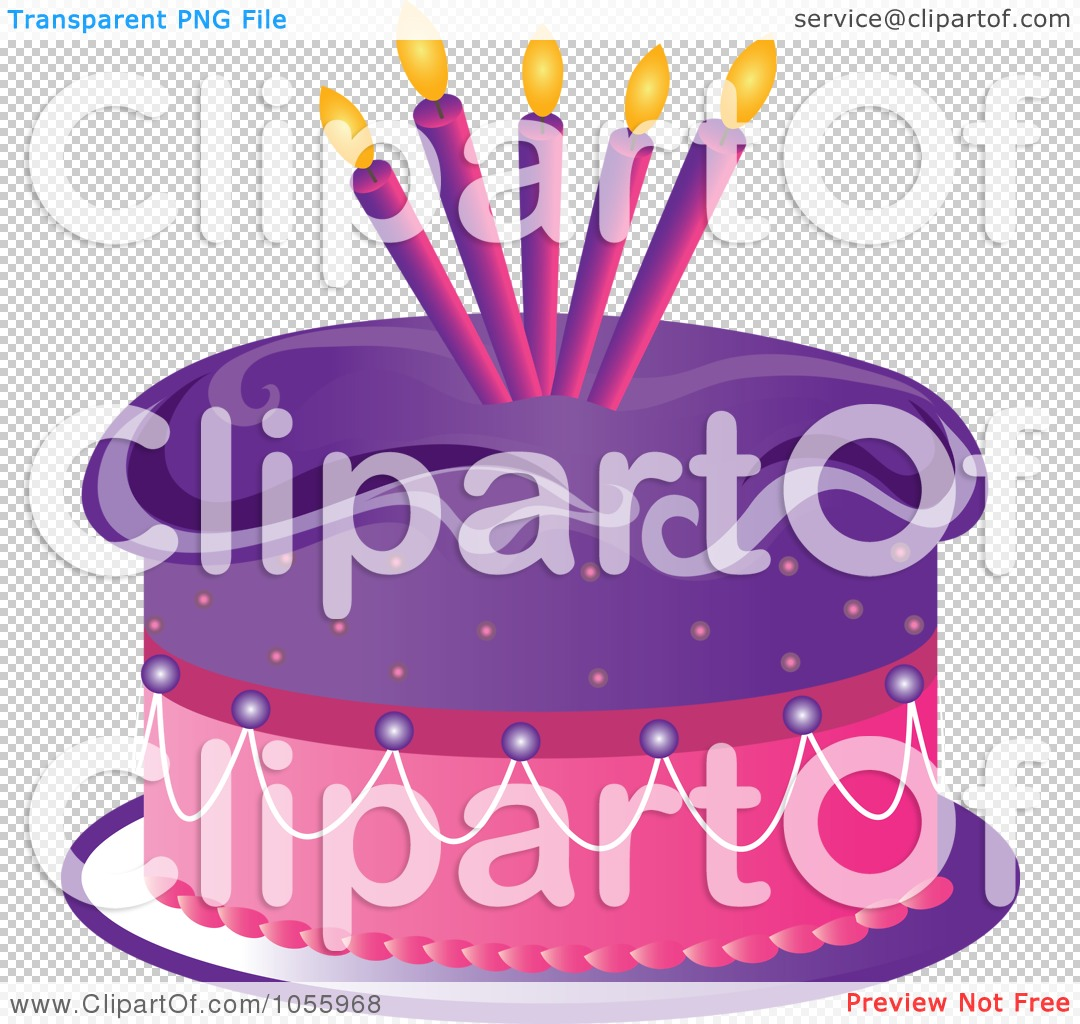 Royalty Free Vector Clip Art Illustration Of A Purple And