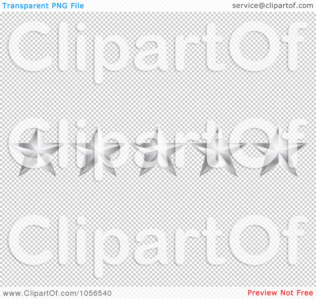 Royalty-Free Vector Clip Art Illustration of a Silver No Star ...