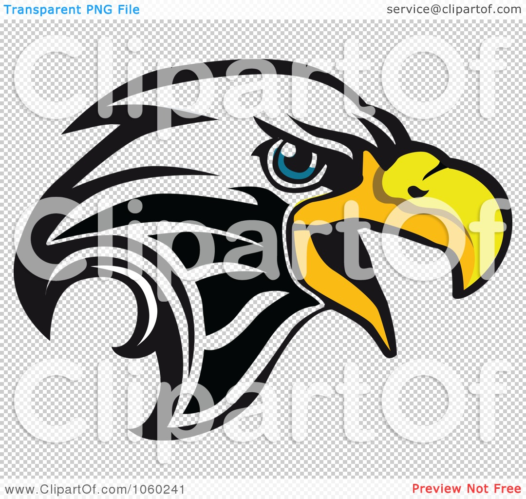 PNG file has a  Eagle Head Vector Png